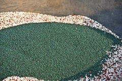 Bulk blend granule fertilizer. Adjust nutrient formula for plant