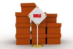 Bulk cargo concept Royalty Free Stock Photography