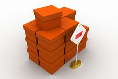 Bulk cargo concept Stock Photography