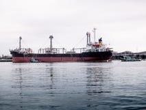 Bulk cargo ship Royalty Free Stock Photography