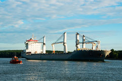 Bulk cargo ship Stock Photography