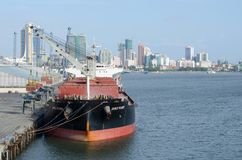 Bulk-carrier royalty-vrije stock afbeelding