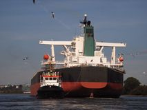 Bulk carrier Royalty Free Stock Photo