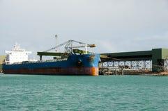 Bulk Carrier. In Geraldton - Australia stock photos