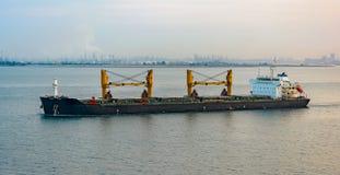 Bulk carrier cargo ship Royalty Free Stock Images