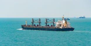 Bulk carrier cargo ship Royalty Free Stock Photo