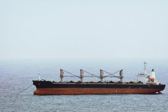 Bulk Carrier Ship Royalty Free Stock Images