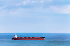 Bulk Carrier. Ship in the Black Sea Stock Photography