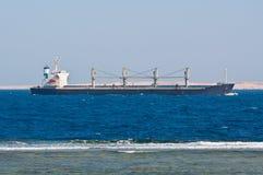 Bulk Carrier Ship Stock Photo