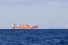 Bulk-carrier ship Royalty Free Stock Photo