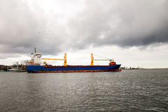 Bulk carrier ship Stock Photography