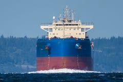 QM/V Quest Trade inbound on Puget Sound Stock Photo