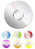 Bulk cd-color. Bulk cd illustration easy to resize or change color Royalty Free Stock Photography
