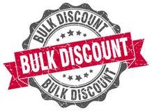 Bulk discount stamp Royalty Free Stock Photo