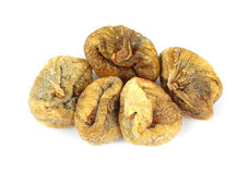 Bulk Dried Turkish Figs. A group of five bulk dried Turkish figs royalty free stock images