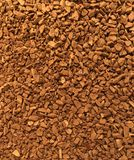 Bulk granule coffee. Its can be used in the food and health industries, catering, cooking, cookery, restaurant, cafe, etc.. for stylish presentation royalty free stock images