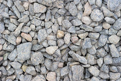 Bulk Gravel. Background made of bulk gravel at a construction site royalty free stock photos