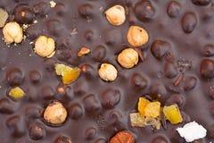 Bulk hazelnut chocolate Stock Image