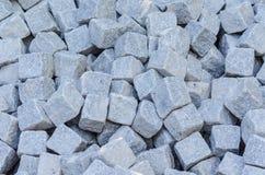 Bulk material, sandstone, natural stone, quarry stone warehouse Stock Photo