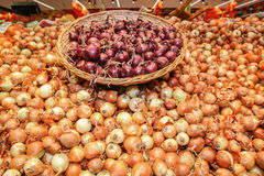 bulk onion basket Stock Images