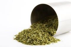 Bulk Parsley. Bulk dried parsley (Petroselinum crispum) flakes stock image