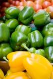 Bulk Peppers Stock Photo