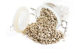 Bulk Sunflower Seeds Royalty Free Stock Photos