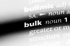 bulkiness стоковое фото rf