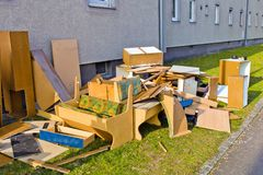 Bulky waste Stock Images