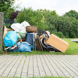 Bulky waste royalty free stock photography
