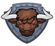 Bull's头3 库存图片