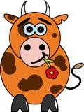 Bull. шаржа. Стоковая Фотография