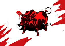 Bull Fotografia Stock Libera da Diritti