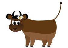 Bull lizenzfreie abbildung
