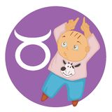 Bull abstrait Photographie stock libre de droits