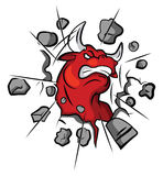 Bull Angry