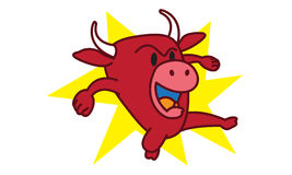 Bull Angry Stock Image