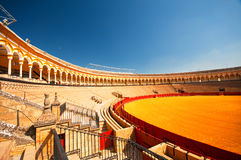 Bull arena Stock Images