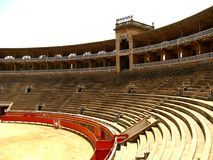 Bull Arena Royalty Free Stock Images