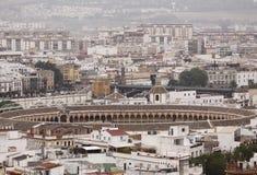 Bull arena in Seville Stock Images
