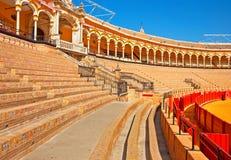 Bull arena of Seville Stock Image