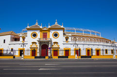 The bull arena of Seville, Spain Stock Photo