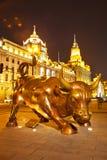 Bull At Shanghai Bund