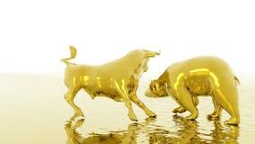 Bull and Bear stock video