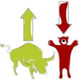 Bull Bear Stock Market Stock Images