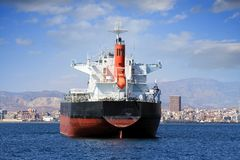 Bull carrier: aft view Royalty Free Stock Images