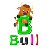Bull cartoon Stock Photo