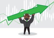 Bull character design.stock concept vector illustration