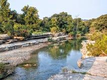 Bull Creek in Austin TX Stock Photography