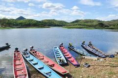 Bull Creek Reservoir, Loei province Thailand. Stock Photos